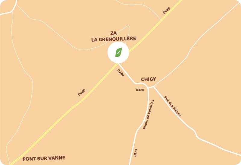 Zone d'Activité de la Grenouillère - Communauté de Communes de la Vanne et du Pays d'Othe