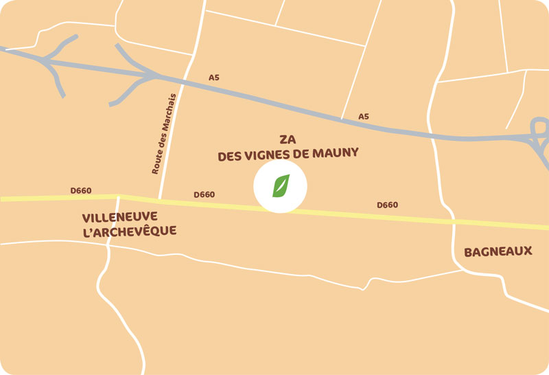 Zone d'Activité des Vignes de Mauny - Communauté de Communes de la Vanne et du Pays d'Othe